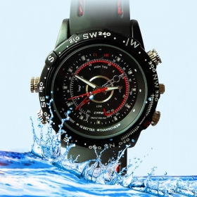 8GB High Definition 1280x960 Waterproof Fashion Spy Watch Digital Video Recorder with Hidden Camera
