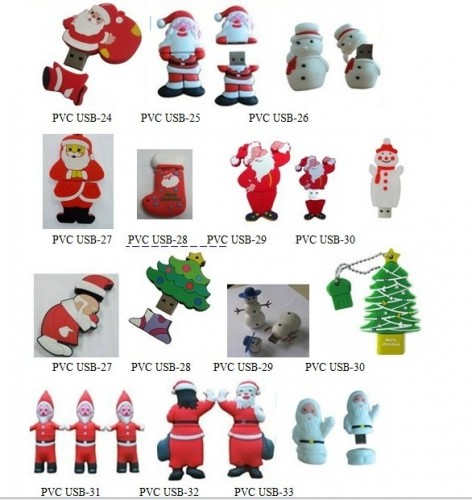 USB flash for christmas promotional gifts!!!