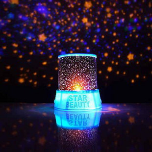Creative Star Projection Lamp with Power Supply