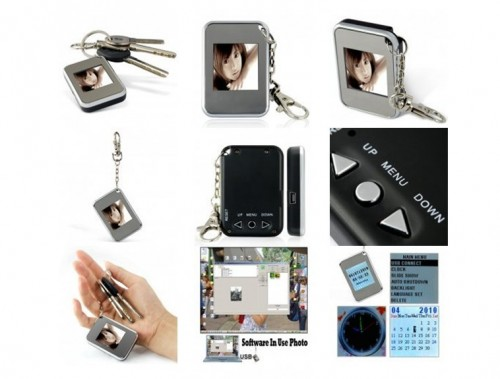 1.5 Inch Keychain Digital Photo Frame