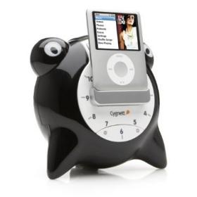 Unique Alarm Clock/Speaker System for Ipod