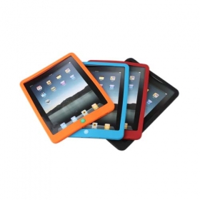 Ipad Silicon Case For Ipad 4 Colors Available